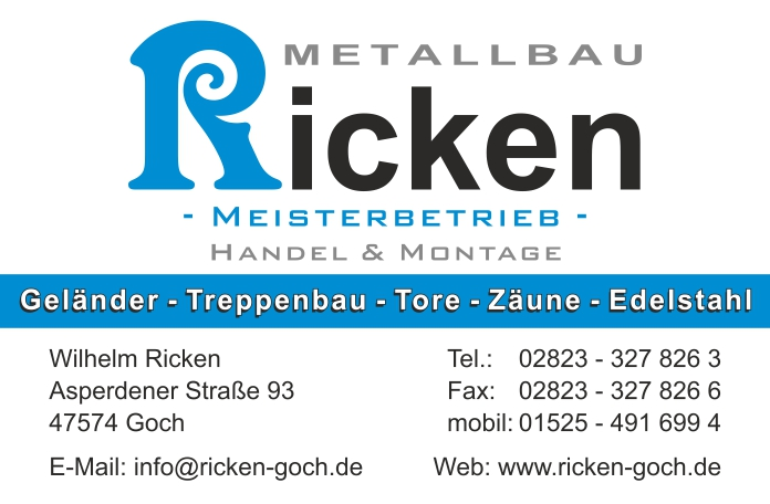 Metallbau Ricken
